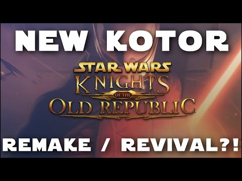 A New KOTOR Game?! - KOTOR Remake / Revival Rumour