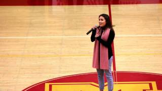 National Anthem - Kate Delos Santos - MCHS Holiday Hoops Classic