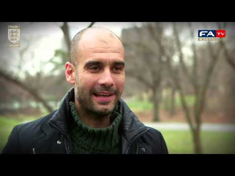 FA 150 |  Pep Guardiola says he wants to coach in England in the future