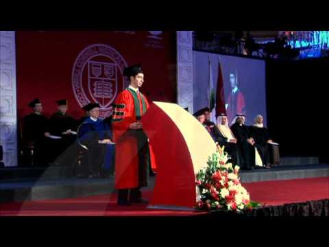 Cornell Medical School Graduation Speech 2010 - Qatar