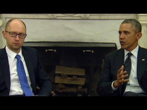 Obama: We stand with Ukraine