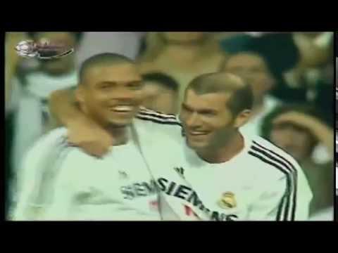 Beckham assist to zidane