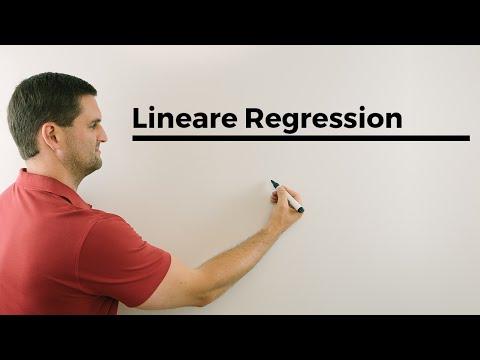 Lineare Regression, Sxx, Sxy, Syy, Berechnung, Alternative, Mathehilfe Online video