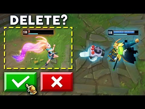 ONE CLICK TO DELETE - Best One Shots Montage - League of Legends