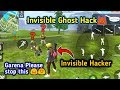 Invisible Ghost hack in free fire | Garena please stop this 😞 thumbnail