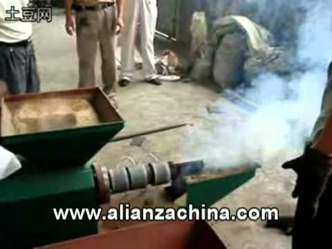 Maquina para fabricar Briqueta