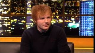 """Ed Sheeran"" The Jonathan Ross Show Series 3 Ep 09 13 October 2012 4/4"