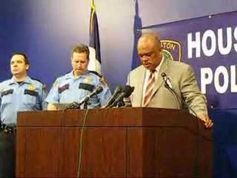 Houston Police Chief Harold ^