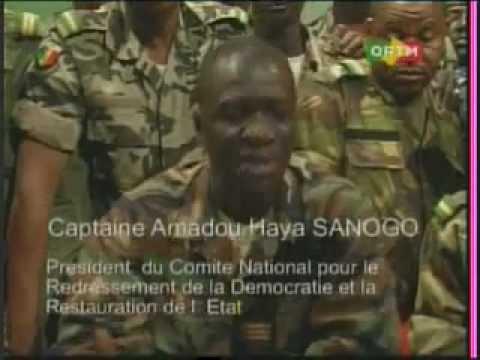 Mali : Le lieutenant Amadou Konaré et le capitaine Amadou Sanogo, chef de la junte