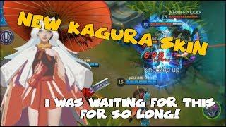 1NEW KAGURA SKIN| FINALLY MOBILE LEGENDS!