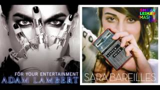 Adam Lambert vs.Sarabareilles -Little../For your..