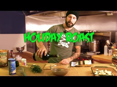 Holiday Roast – Cooking with The Vegan Zombie