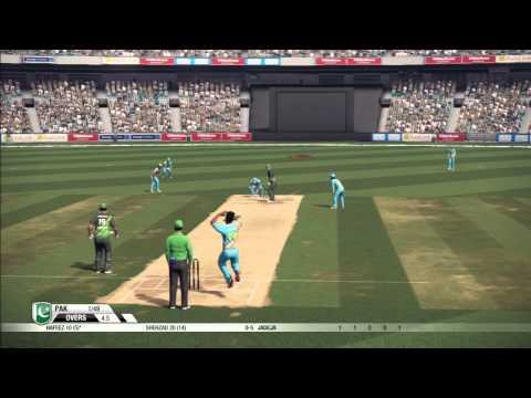 Don Bradman Cricket '14 - India vs Pakistan [AI vs AI]