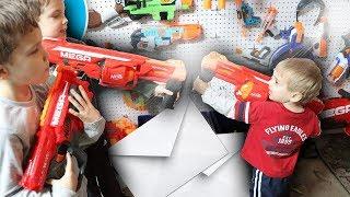 Nerf War:  Mail Time Mayhem 29 Baby Domination
