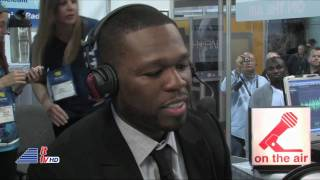 50 Cent at CES 2011 in Las Vegas