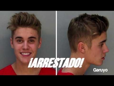 Fue Arrestado En Miami Beach    Justin Bieber Sale De Prisi  N
