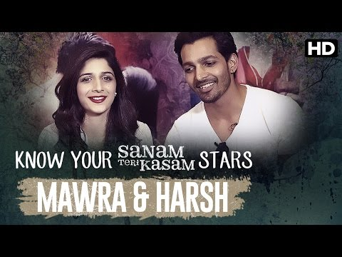 Sanam Teri Kasam Special | Know Your Stars: Harsh & Mawra