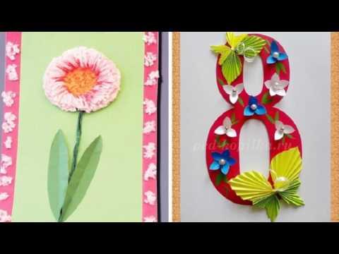 Как сделать подарок для мамы на восьмое марта 26