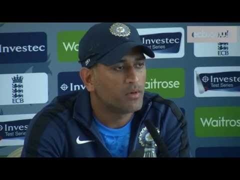 India captain MS Dhoni previews fourth Investec Test match