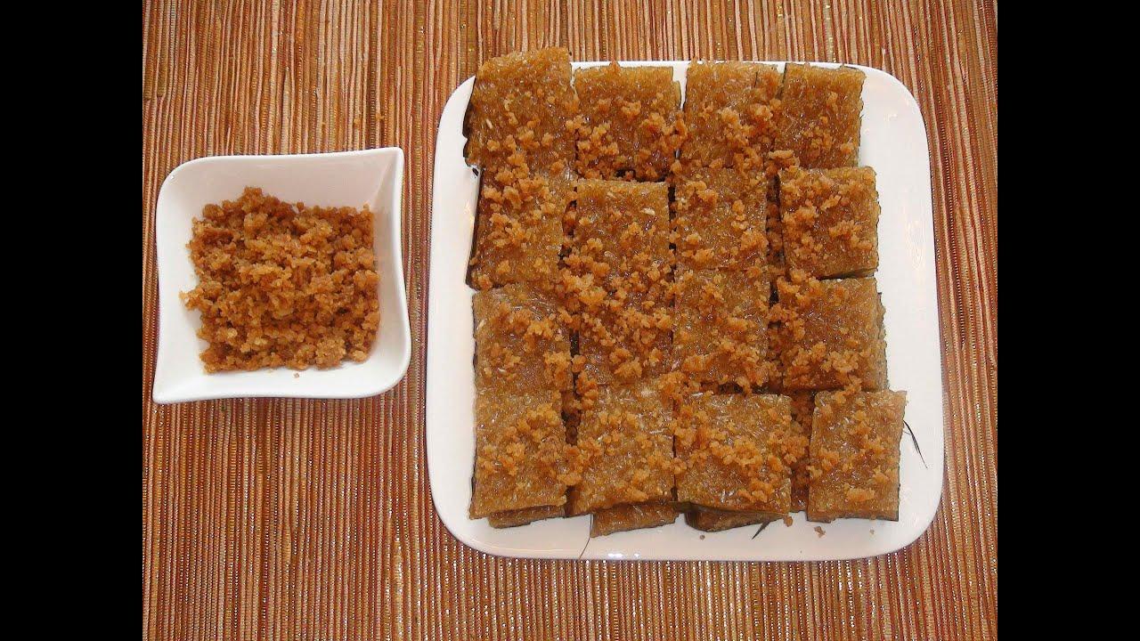 Filipino Glutinous Rice Cake Recipe