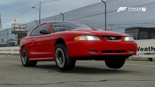 Forza 7 || 1000+hp Sn95 (Insane 60Ft) Drag Build + Tune