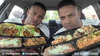Eating El Pollo Loco Taco Platters @hodgetwins