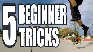 5 Easy Skateboard Tricks That Everyone Thinks are Hard