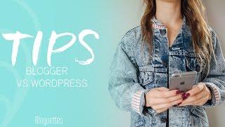Blogger vs. Wordpress!