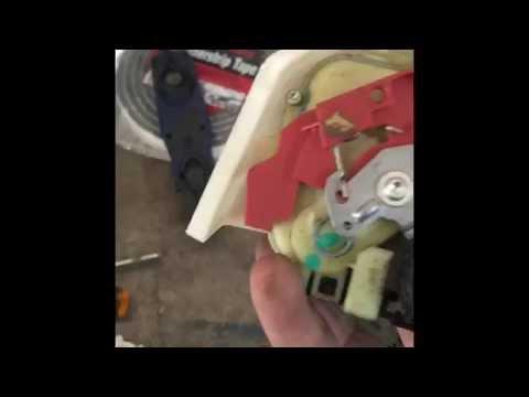 07 Jetta rear door lock actuator removal MK5