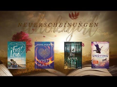 Zu viele interessante Bücher?! - Neuerscheinungen: Mögliche Neuzugänge im Juli 2018 | schokigirl