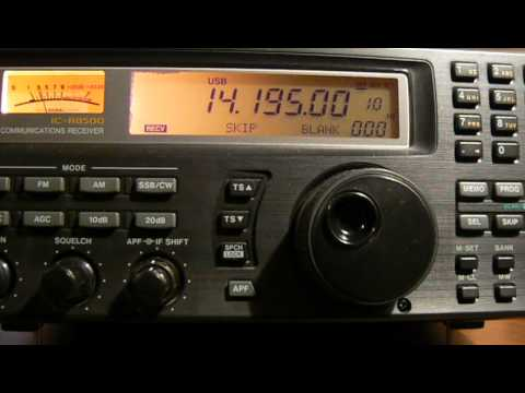 14195khz,Ham Radio,DL5SAM(Germany) 12-27UTC.