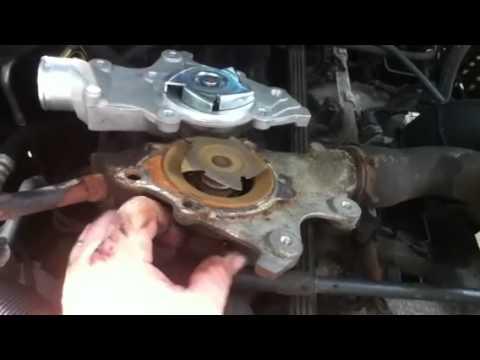 98 Jeep Cherokee Bad Waterpump Youtube