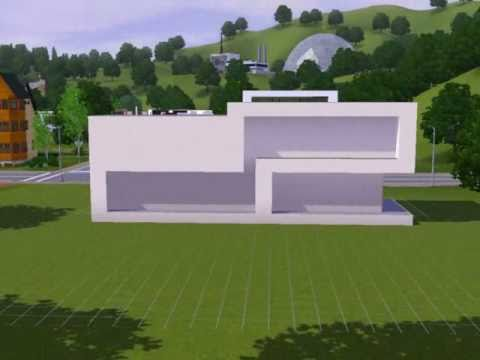 Modern house bachelor s home the sims 3 youtube for Modern house design the sims 3