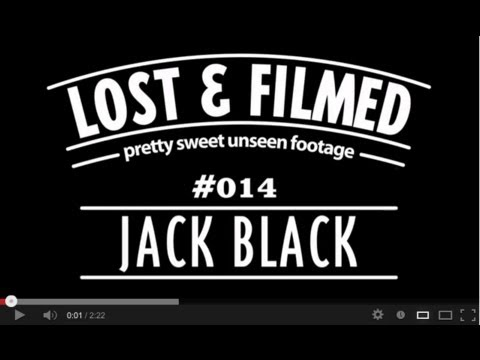Pretty Sweet Lost & Filmed Clip of the Day with Jack Black.