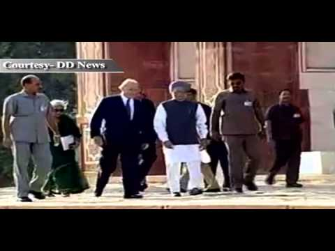 PM Dr. Manmohan Singh's visit marking the completion of restoration work at Humayun's Tomb