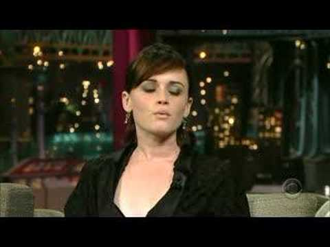 Alexis Bledel on David Letterman (5-25-07)