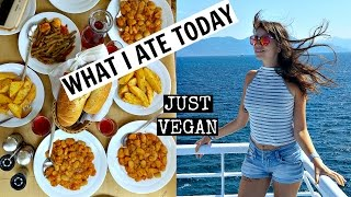 What I Ate Today In Agistri, Greece | Just Vegan