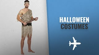 Blue Banana Men Halloween Costumes [2018]: Caveman Adult Fancy Dress Costume (Brown)