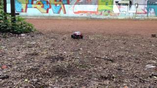 Lego technic small RC buggy part 3 - testing