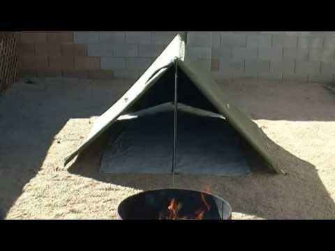 Military Surplus Sleep System And Canvas Pup Tent Review