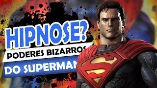 6 poderes BIZARROS do SUPERMAN
