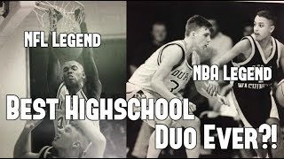The Unbelievable Story of an NFL and NBA Star on the Same Highschool Team!