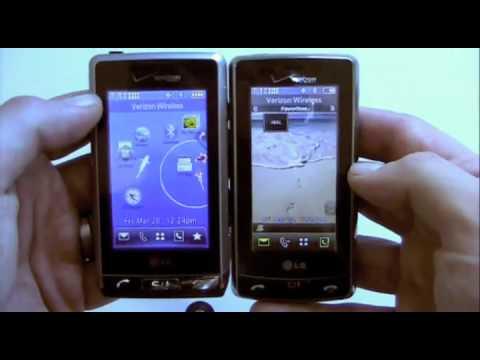 Dogfight! LG Versa vs LG Dare (Verizon) Pt 1
