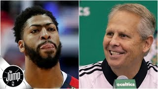 Anthony Davis for four first-round picks from Celtics -- is that enough? | The Jump