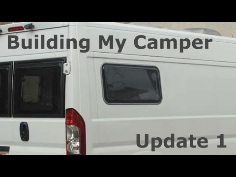 Self Build Camper Build Update