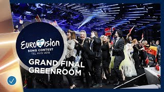 Emotions in the greenroom during the Grand Final of the 2019 Eurovision Song Contest