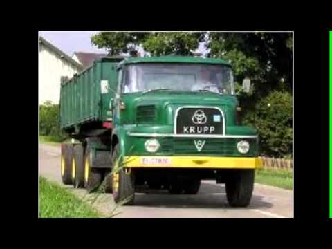 Vieux camions allemands, Old German trucks