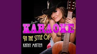 Watch Kathy Mattea Listen To The Radio video
