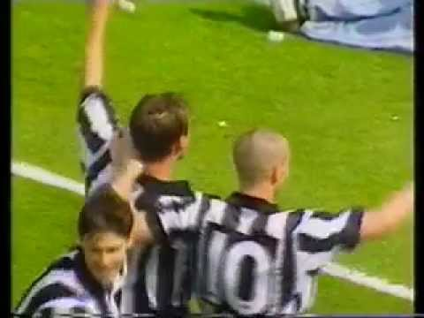 Newcastle v Leicester, May 9th 1993, Division 1, 7-1