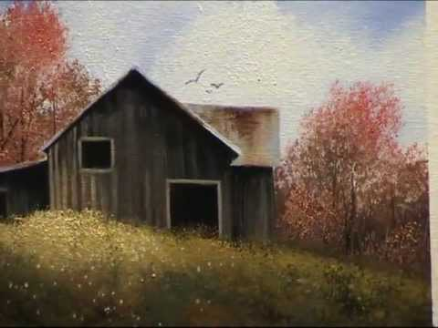 Wilson Bickford Intermediate/Advanced Oil Painting Lesson - Autumn Barn